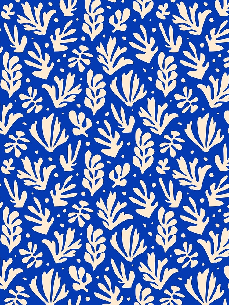 Leaves Pattern Plants Inspired by Henri Matisse by EthanSix