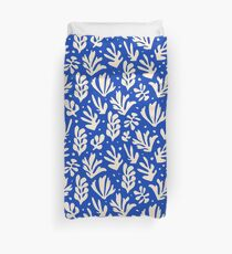 Leaves Pattern Plants Inspired by Henri Matisse Duvet Cover