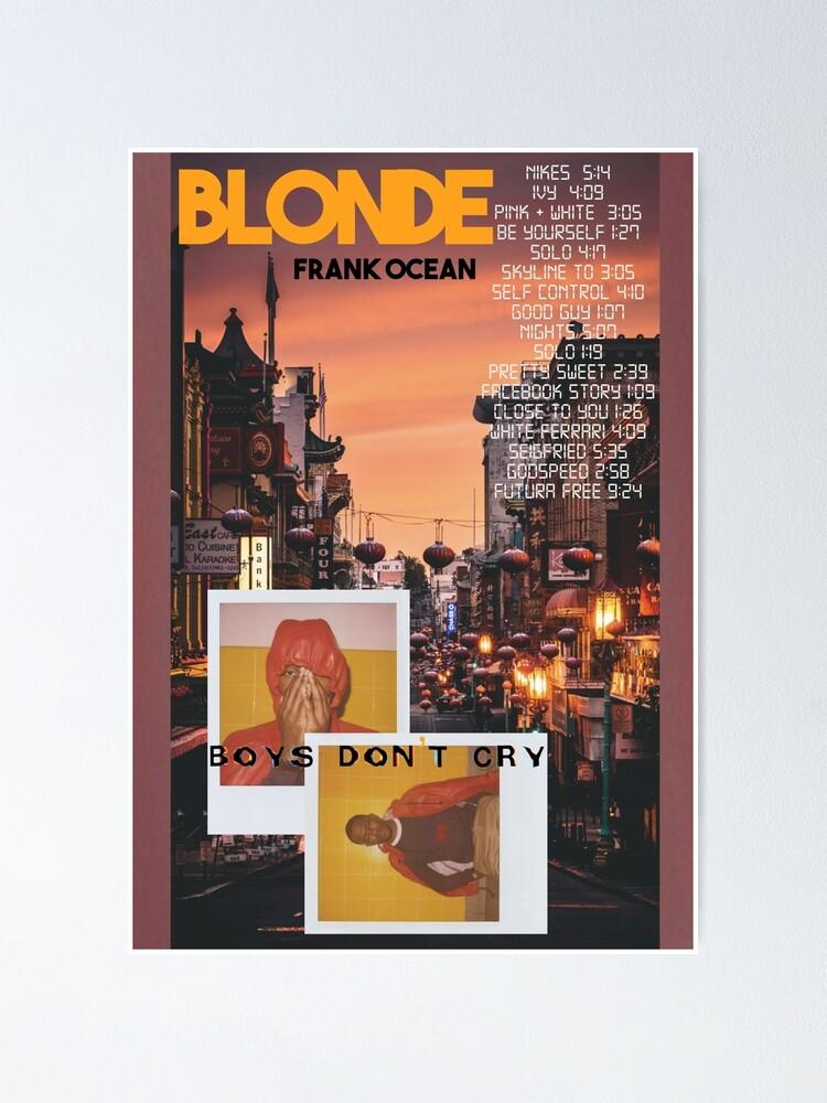 Alternate view of Frank Ocean Poster