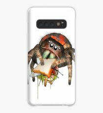 """Lunch on the Fly"" Jumping Spider Sandwich #2 Case/Skin for Samsung Galaxy"