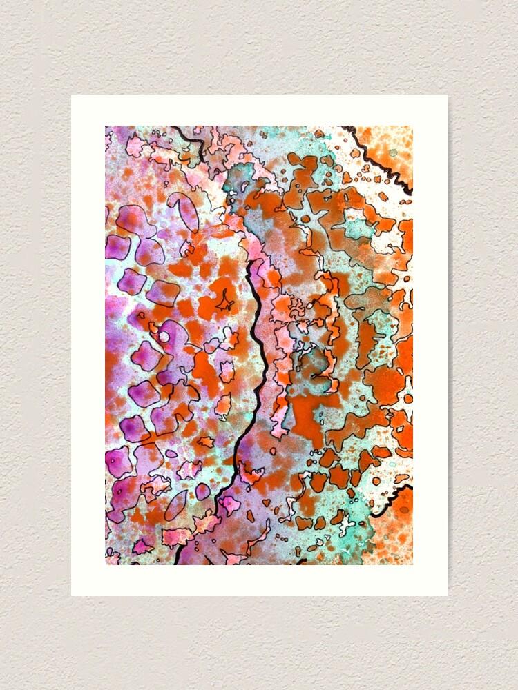 Alternate view of 15, Inset B Art Print