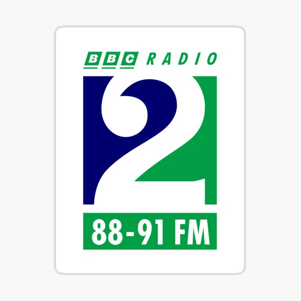 NDVH Radio 2 1995 Sticker