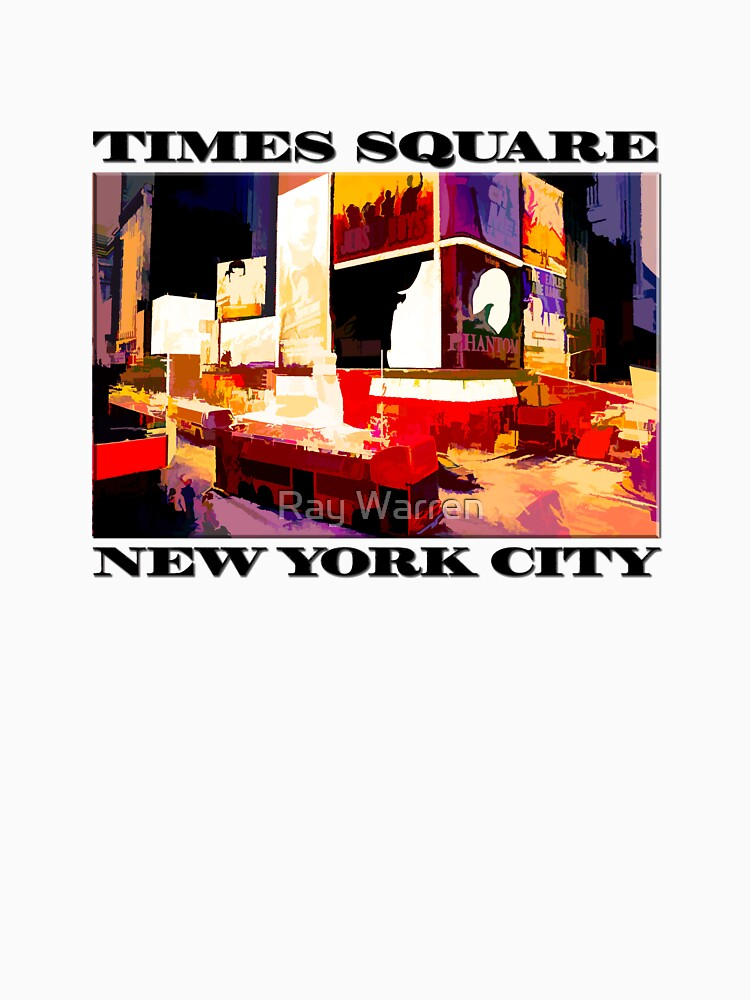 Times Square II (abstract colour print) by RayW