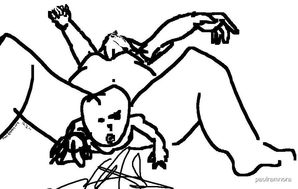 childbirth -(120311)- mouse drawn/ms paint by paulramnora