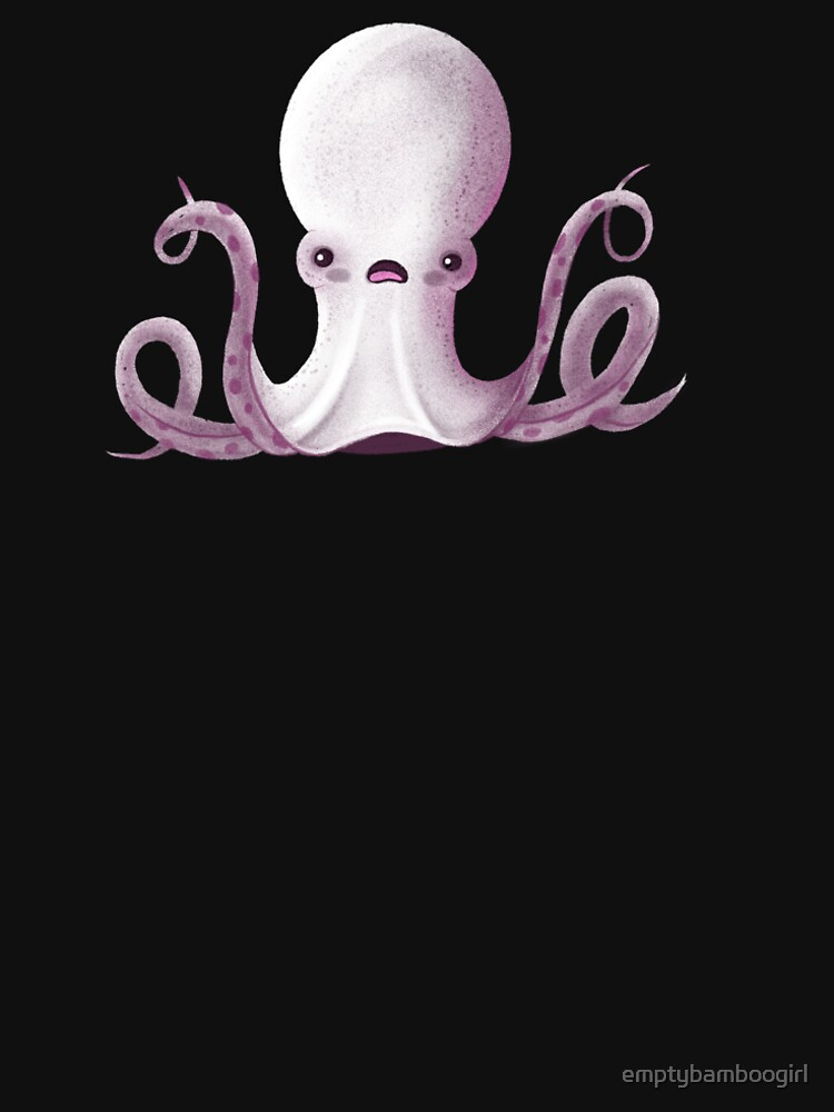 Ghostly Octopus by emptybamboogirl