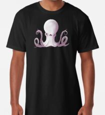 Ghostly Octopus Long T-Shirt