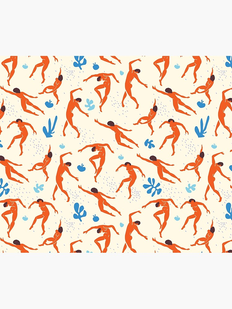 Dancers - Inspired by Matisse by EthanSix