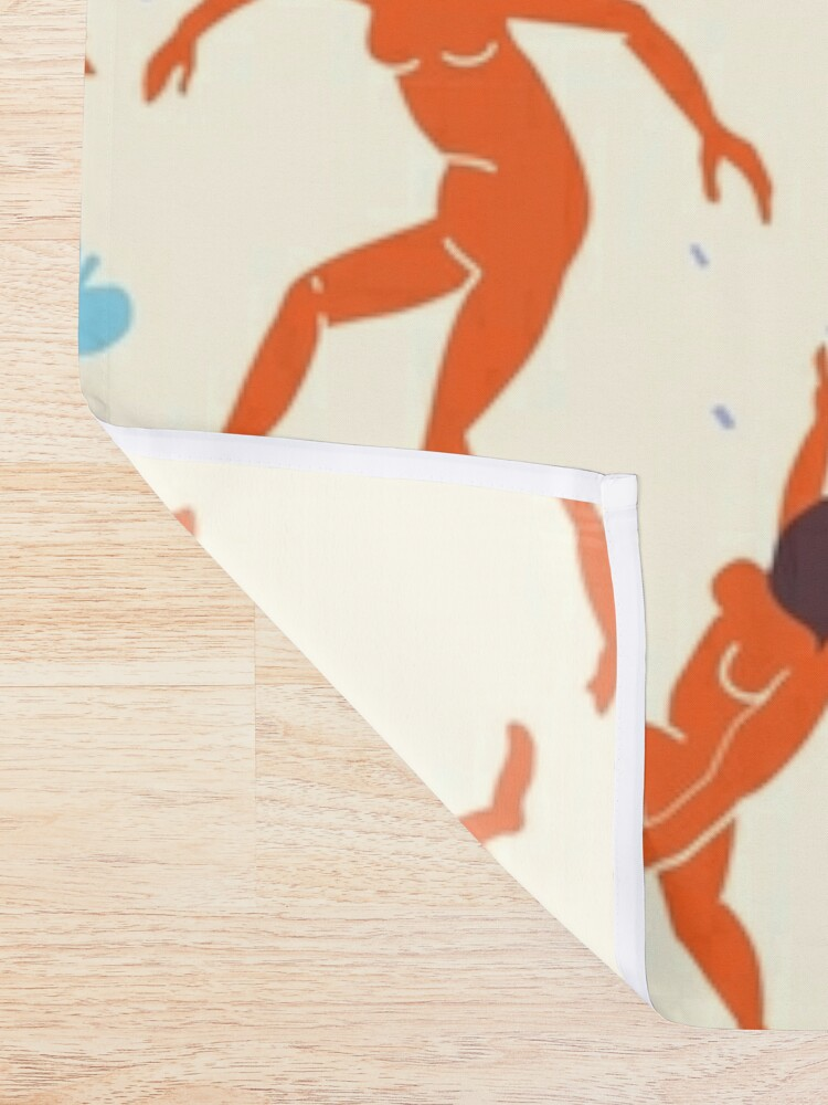 Alternate view of Dancers - Inspired by Matisse Shower Curtain