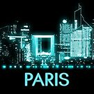 Skyline von Paris von MilitaryCandA