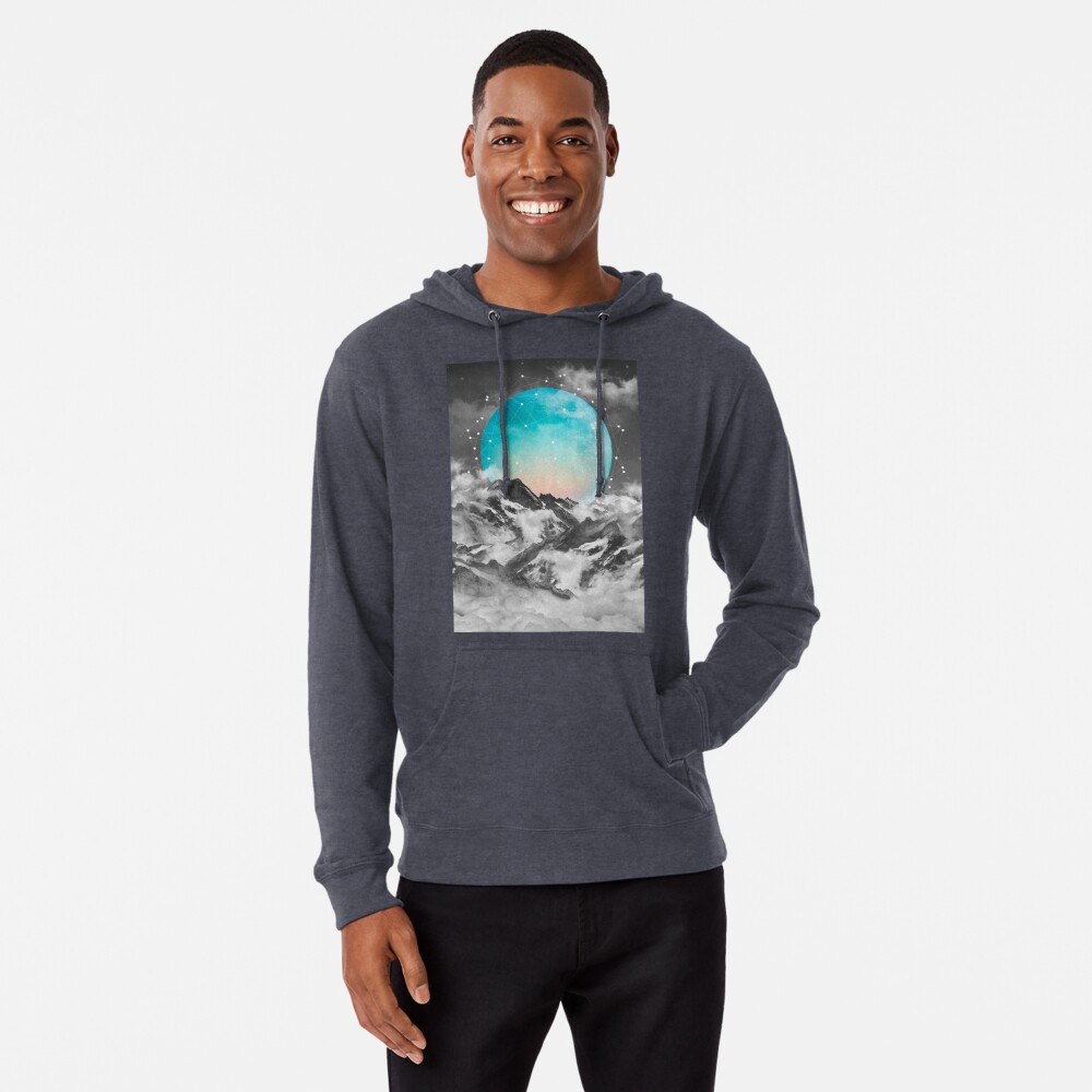 It Seemed To Chase the Darkness Away Lightweight Hoodie
