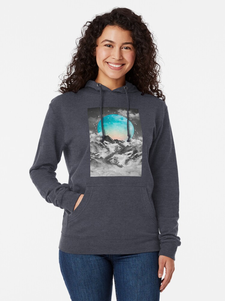 Alternate view of It Seemed To Chase the Darkness Away Lightweight Hoodie