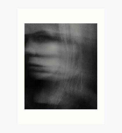 Am I A Ghost? Art Print