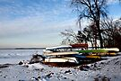 Boats in the Snow by Madison Jacox