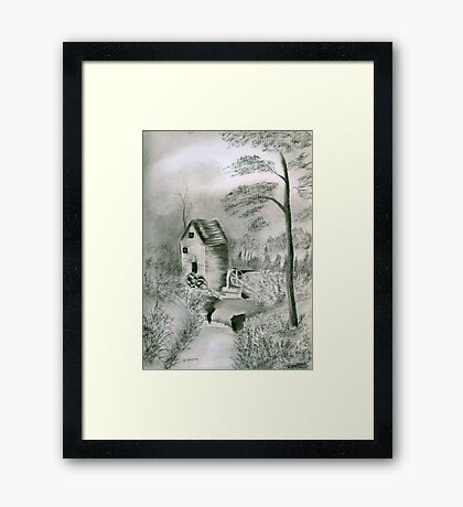 Old Country Mill Framed Print