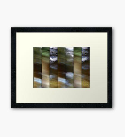River Song Framed Print