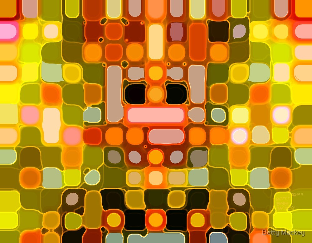 Orange Lights by Betty Mackey