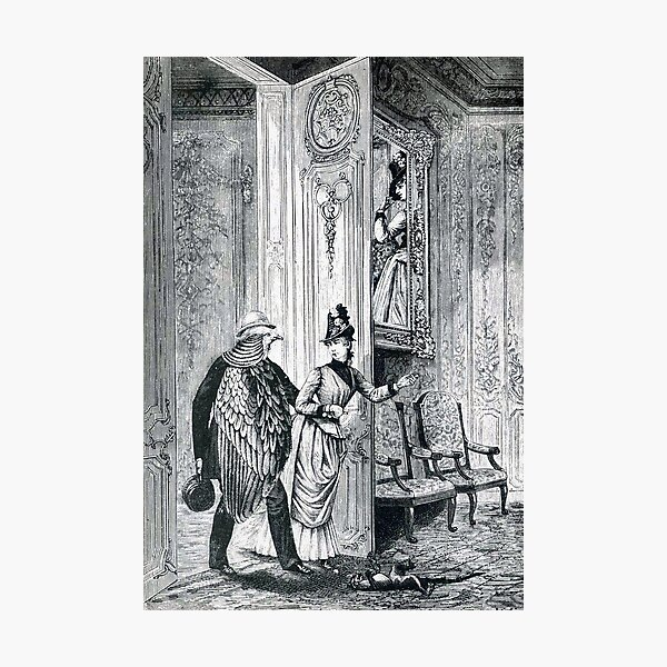 Week of Kindness - Bird Man and Woman,  Max Ernst Photographic Print