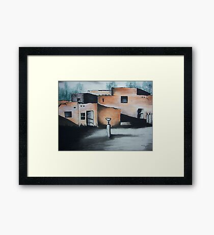 Nubian Village Workers Framed Print