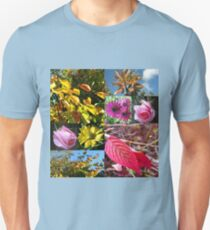 Autumn Collage with Roses T-Shirt