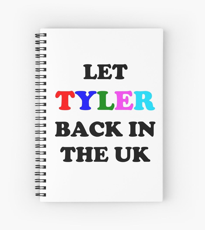 45dfb6adcb8a Let Tyler Back in the UK - Tyler