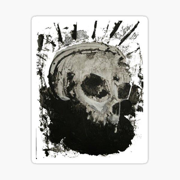 Skull King Sticker