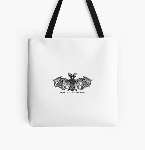 Tiny Bat All Over Print Tote Bag