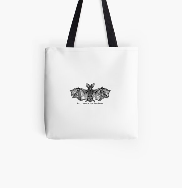 Tiny Bat All Over Print Tote Bag