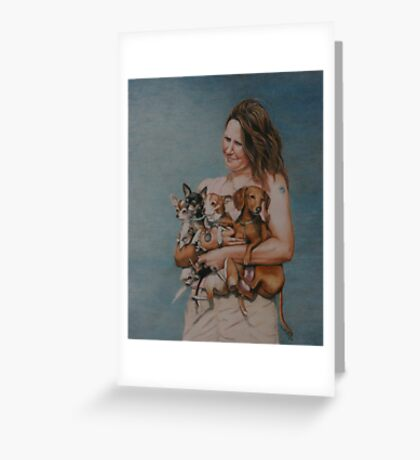 4 Rescues Greeting Card