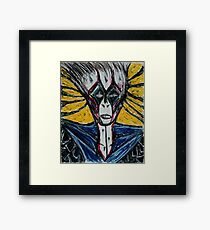 Clown that comes to Paradise Framed Print