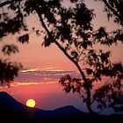 Smoky Mountain Sunset by Robert Case