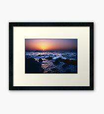 Dakar Sunset Framed Print