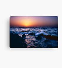 Dakar Sunset Canvas Print
