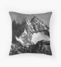 La Roche Méane, la Grande Ruine et le Pic Bourcet Throw Pillow