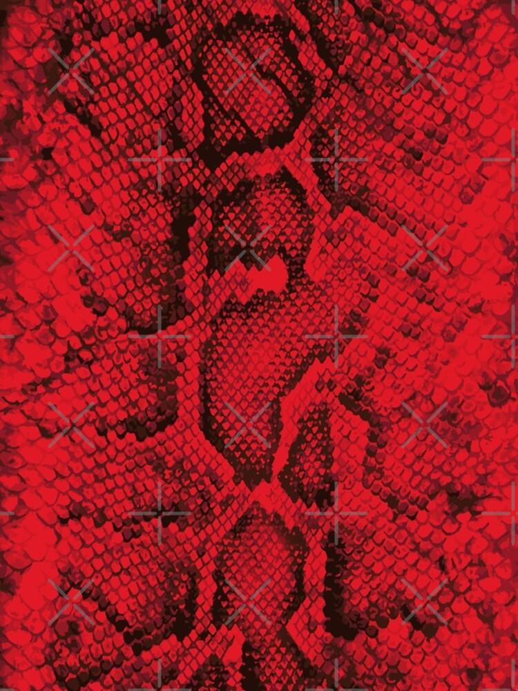 Red Snakeskin  by savesarah