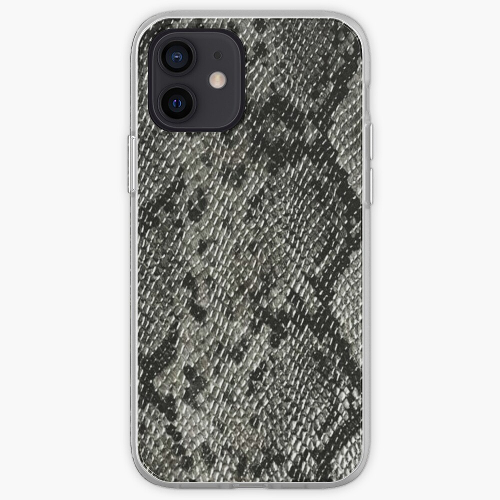 Classic RattleSnake Skin iPhone Case & Cover