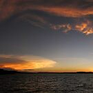 Thunderheads over Dampier Archipelago by Reef Ecoimages