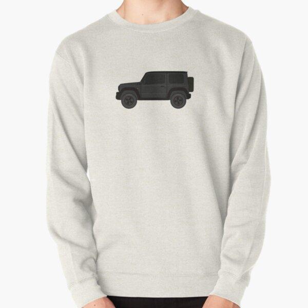 4x4 jimny new version 2019 black w/ tinted window Pullover Sweatshirt