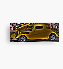 Dick Tracy Car Canvas Print