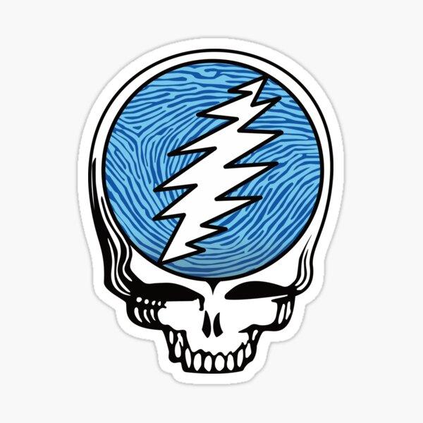 Steal Your Fingerprint - Blue Sticker