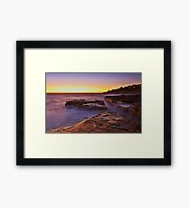 Lurline Bay Sunrise Framed Print