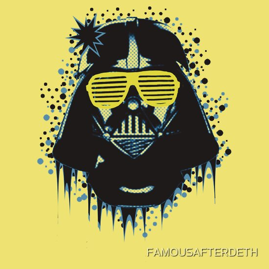 TShirtGifter presents: Kanye Vader, dark side YO!!