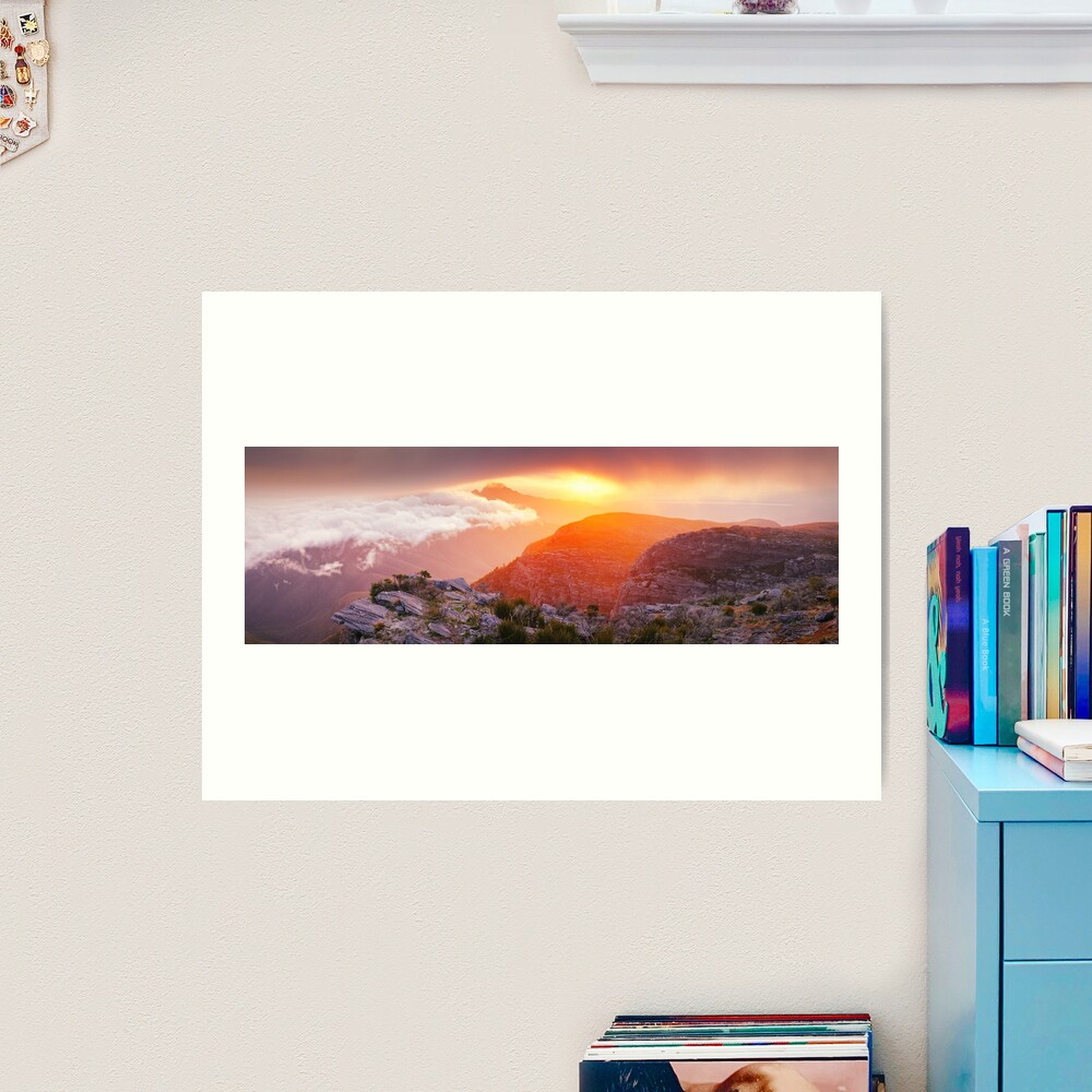 Bluff Knoll Summit View Stirling Ranges, Western Australia Art Print