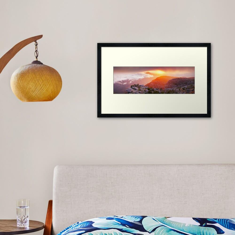 Bluff Knoll Summit View Stirling Ranges, Western Australia Framed Art Print