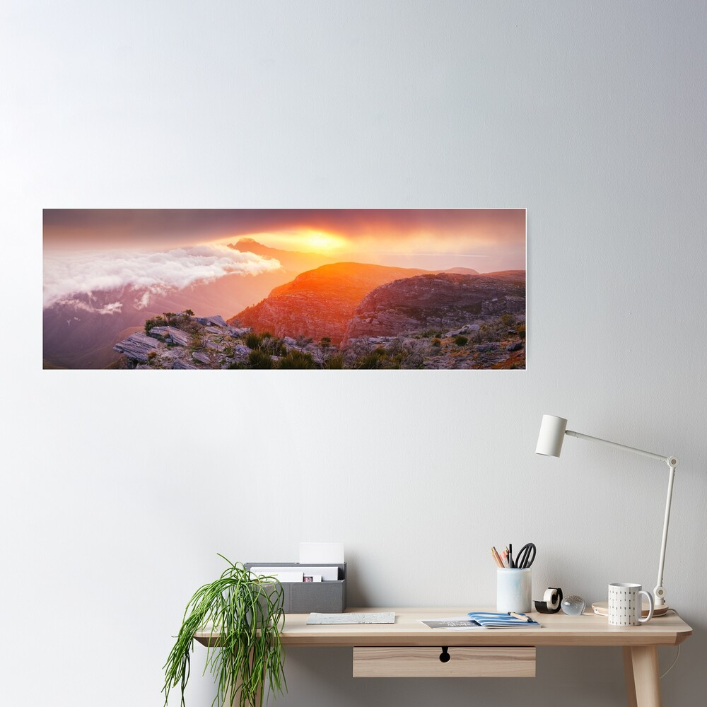 Bluff Knoll Summit View Stirling Ranges, Western Australia Poster