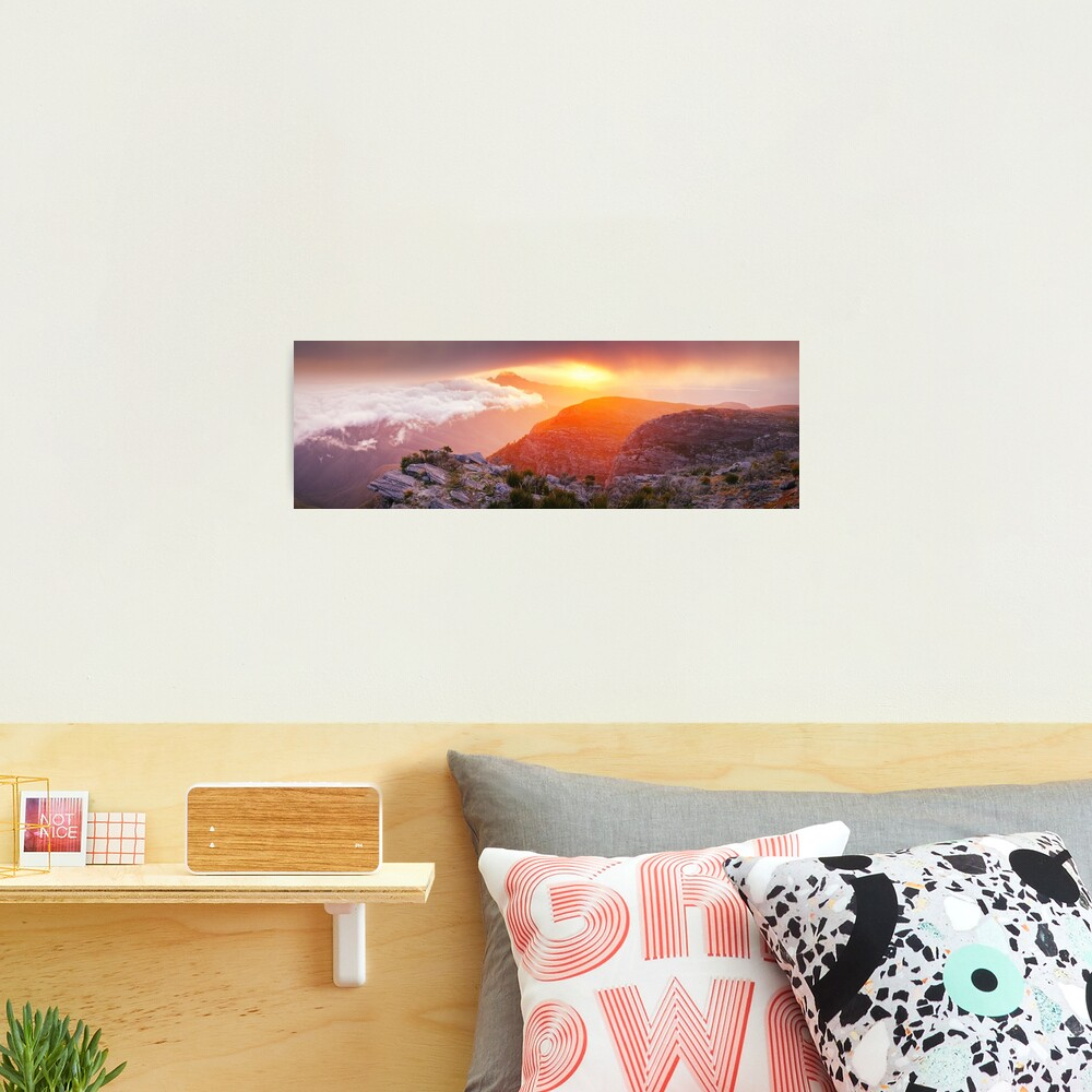 Bluff Knoll Summit View Stirling Ranges, Western Australia Photographic Print