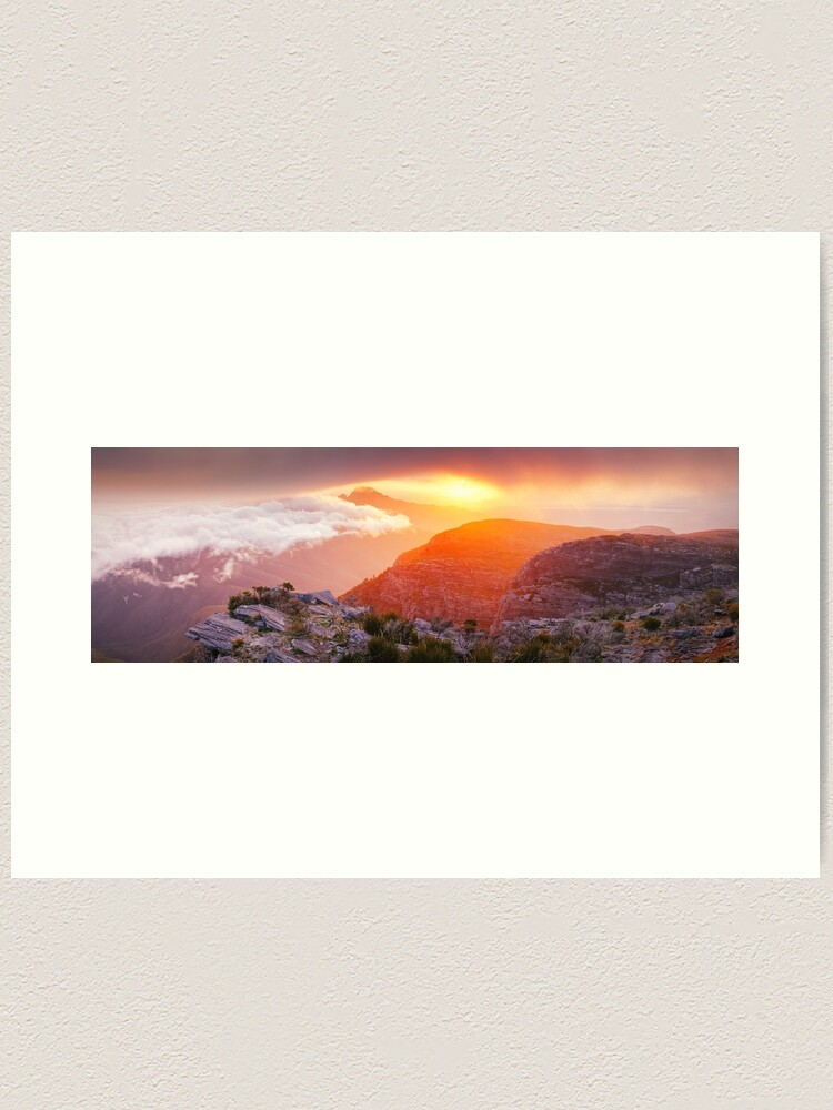 Alternate view of Bluff Knoll Summit View Stirling Ranges, Western Australia Art Print