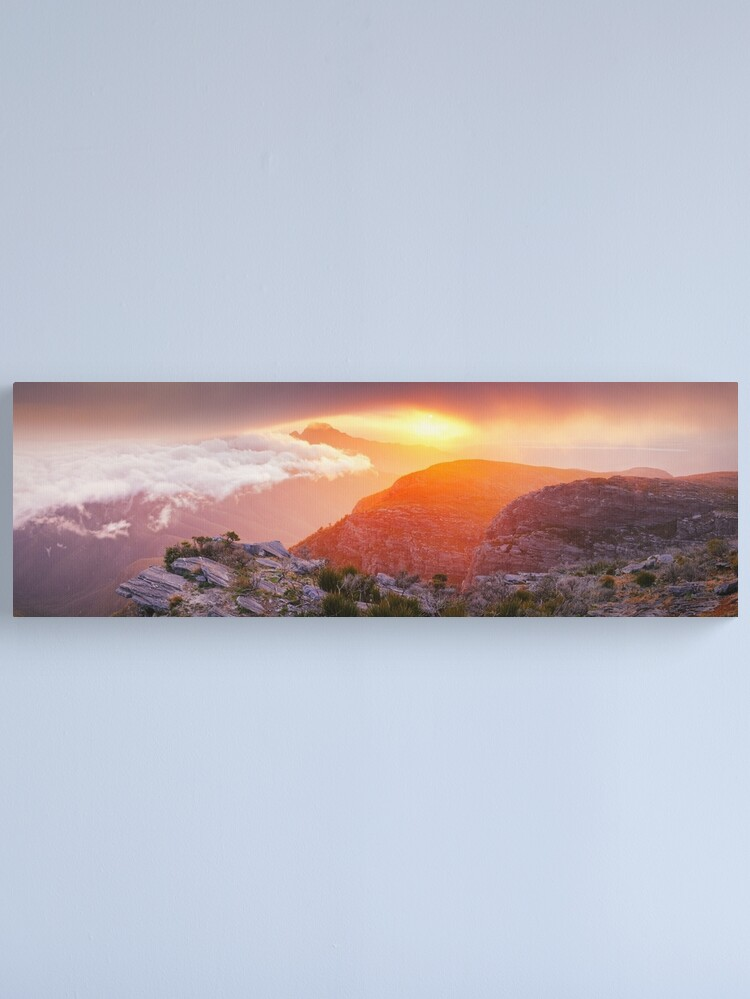 Alternate view of Bluff Knoll Summit View Stirling Ranges, Western Australia Canvas Print