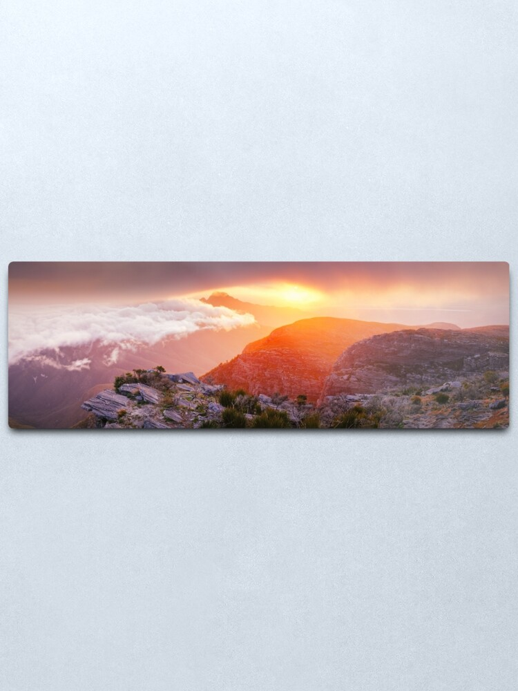 Alternate view of Bluff Knoll Summit View Stirling Ranges, Western Australia Metal Print