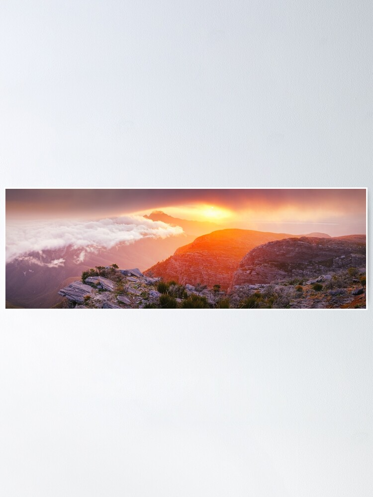 Alternate view of Bluff Knoll Summit View Stirling Ranges, Western Australia Poster