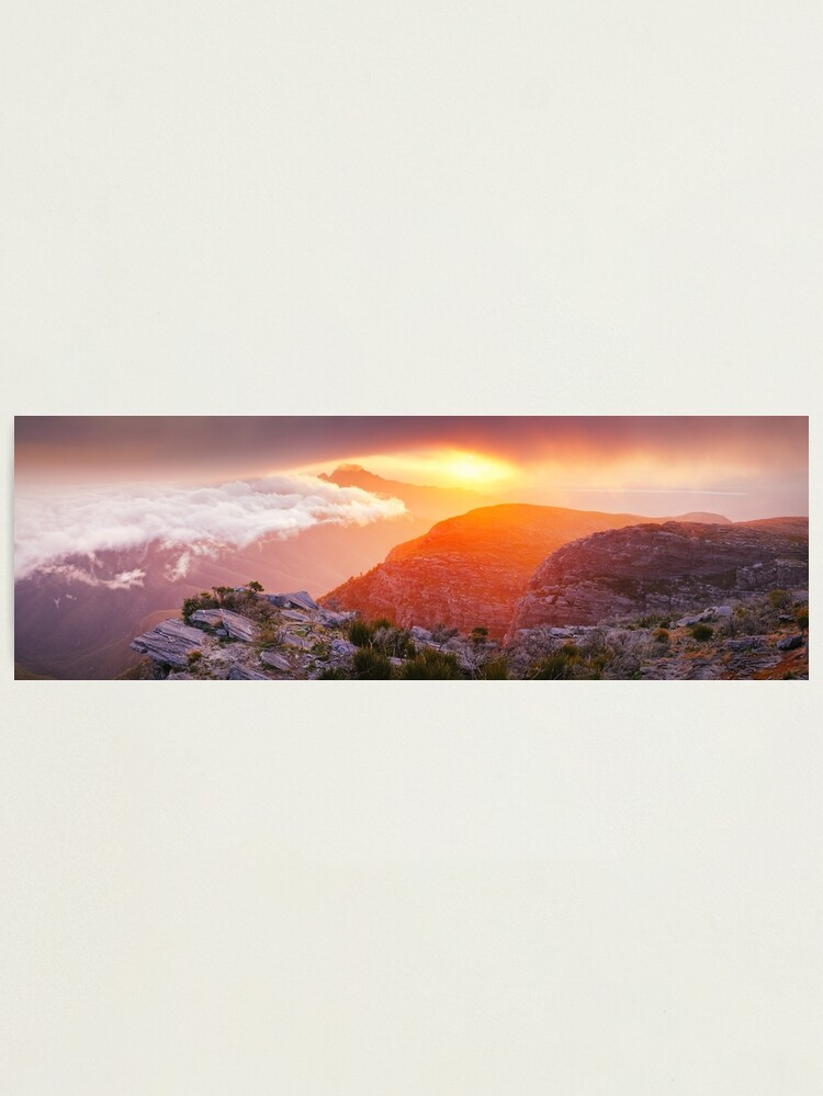 Alternate view of Bluff Knoll Summit View Stirling Ranges, Western Australia Photographic Print